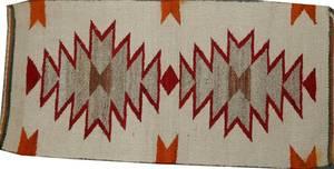 041295 AMERICAN INDIAN WOOL MAT 365x18