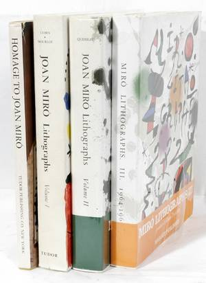 022181 JOAN MIRO LITHOGRAPH ART BOOKS FOUR