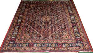 060242 HAND WOVEN PERSIAN WOOL RUG 4 8x6 3