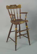 Pennsylvania painted highchair 19th c