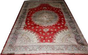 022241 KHORASSAN WOOL PERSIAN ORIENTAL RUG 99x70