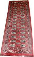 030347 BOKHARA PERSIAN WOOL RUNNER 26x5