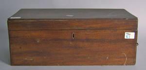 American mahogany lap desk