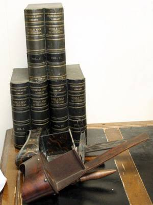 061514 STEREOGRAPHIC WORLD WAR I BOOKS VOL 1 6
