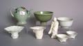Five Chinese porcelain Blanc de chine bowls