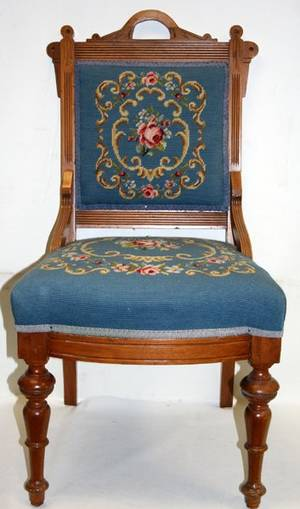 070534 EASTLAKE AMERICAN MAHOGANY SIDE CHAIR