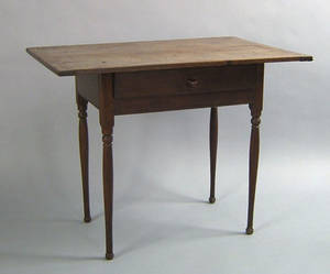 New England cherry tavern table late 18th c
