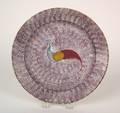 Purple spatter plate