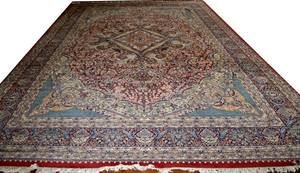 060034 HAND WOVEN PERSIAN WOOL CARPET 15 4x12 1
