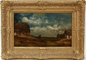 022009 JULES DUPRE OIL ON CANVAS C1855 15x18