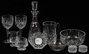 WATERFORD LISMORE  OTHER CRYSTAL BARWARE