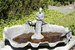 072183 LEAD SHELL FOUNTAIN ST FRANCIS OF ASSISI