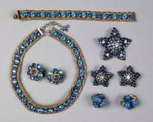 Hattie Carnegie vintage jewelry set