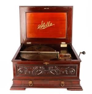 Mermod Freres Stella Disc Music Box Circa 1900