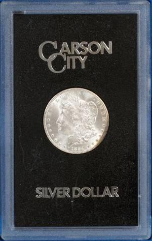 1884CC MORGAN STERLING SILVER 1DOLLAR COIN