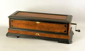 Mermod Freres Ideal Soprano cylinder music box late 19th c