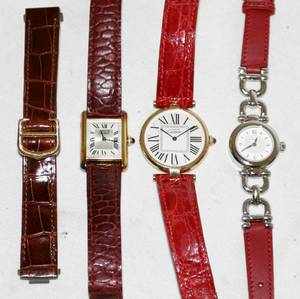 072239 CARTIER  COACH LADYS WRIST WATCHES