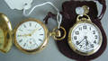 Two Elgin gold filled pocket watches