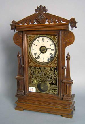Seth Thomas Victorian mahogany mantle clock