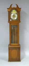 Daneker Williamsburg cherry tall clock