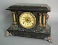 Seth Thomas faux marble shelf clock