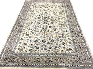 ISFAHAN PATTERN HAND WOVEN WOOL CARPET