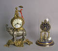 Imperial mantle clock with elephant base