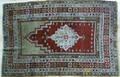 Turkish prayer rug ca 1900