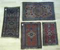 Four Hamadan mats