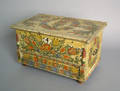 Continental painted miniature blanket chest