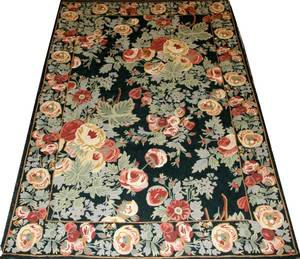 CHINESE NEEDLEWORK RUG