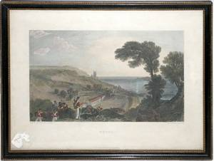 072476 G COOKE ENGRAVING AFTER JMW TURNER 11x9
