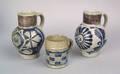 Two German Westerwald mugs 18th c