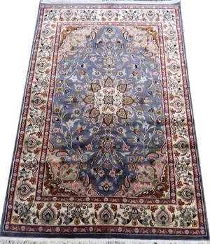 INDOPERSIAN WOOL  SILK RUG