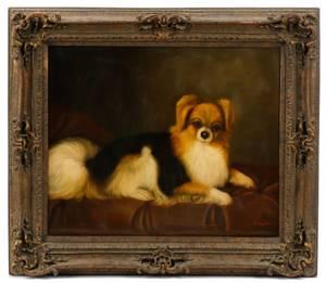 Style Of George Stubbs Portrait Of Pomeranian