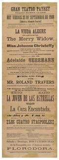 Herrmann Adelaide Adelaide Herrmann Playbill Havana
