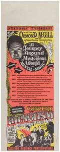 Hypnotism Three Vintage Hypnotism Posters Including