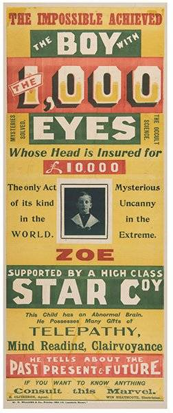 Zoe The Boy With the 1000 Eyes Melbourne WH