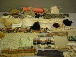 A Large Lot of Fabrics and Trims