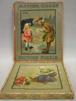 Ives Mother Goose Picture Puzzle