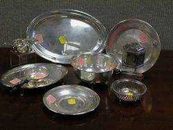 Ten Sterling Silver Table Items