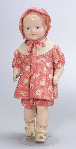 Composition Shoulder Head Patsy Doll