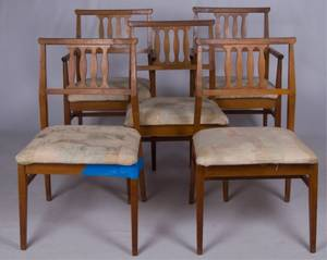 Tung Si Dining Chairs Set of Five 5