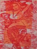 Gupta Woodblock Print