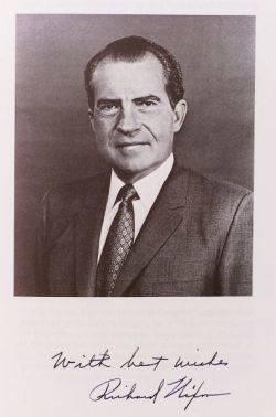 Nixon Richard M 19131994 and Eisenhower Dwight D 18901969