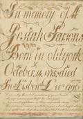 Calligraphic Memorial