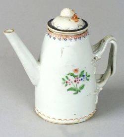 Miniature Chinese Export Porcelain Tea Pot