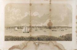 George Douglas publisher American 19th Century After Fitz Hugh Lane American 18041865 View of Gloucester from Rocky Neck 1876