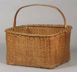 Shaker Woven Splint Basket