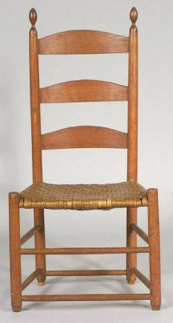 Shaker Maple and Ash Tilter Side Chair